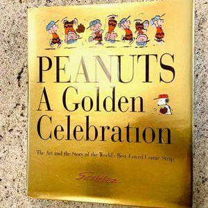 Peanuts: A Golden Celebration Hardcover NWOT!